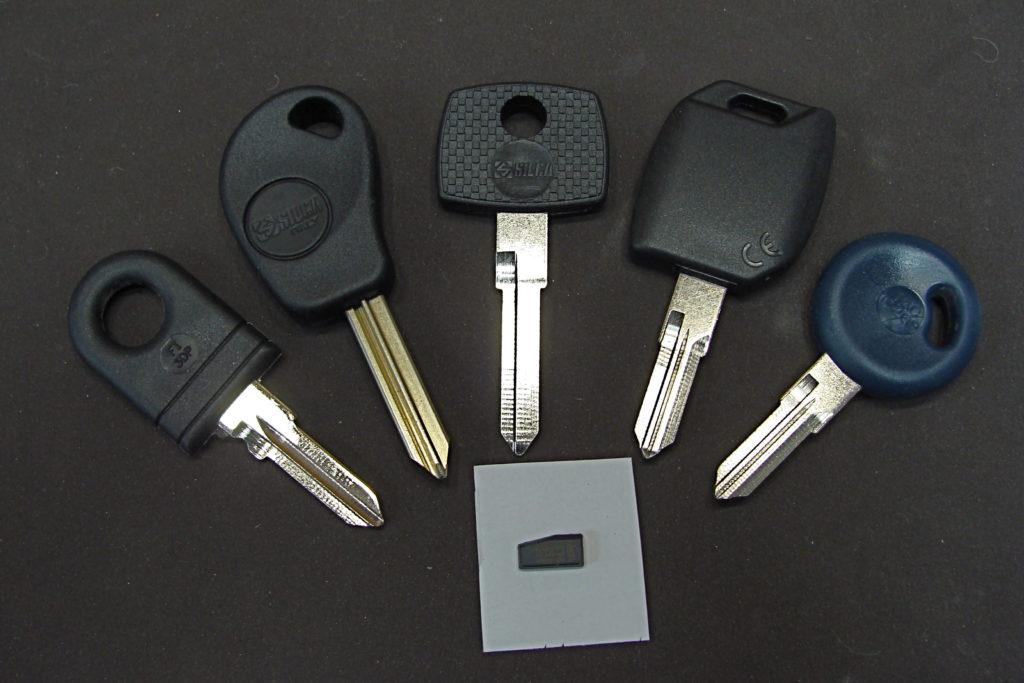 clés auto et transponder